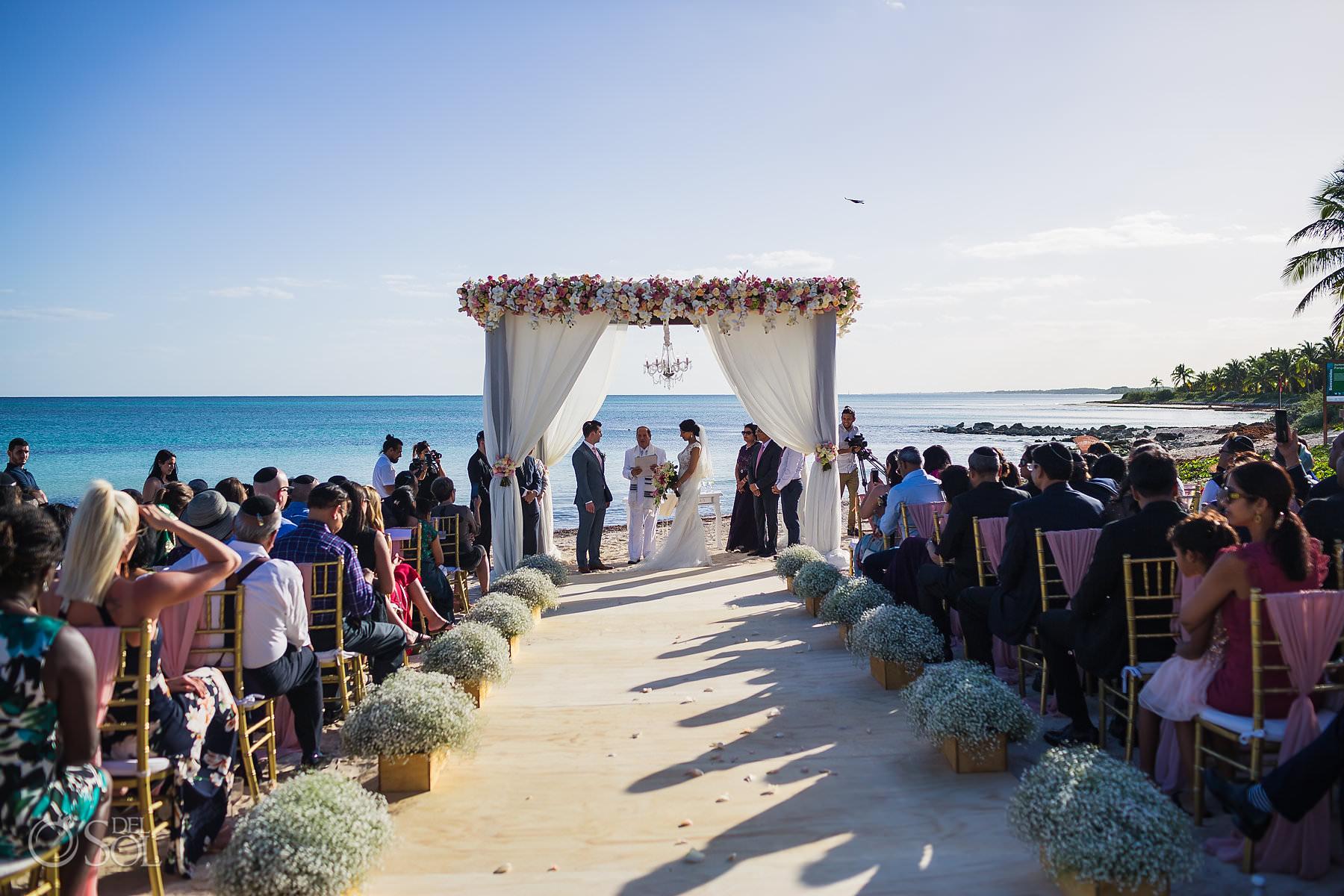 Dreams Tulum Jewish Wedding Ceremony