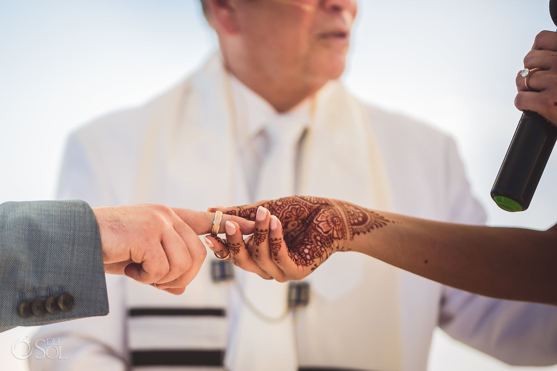 Mendhi Henna ring exchange dreams tulum jewish wedding