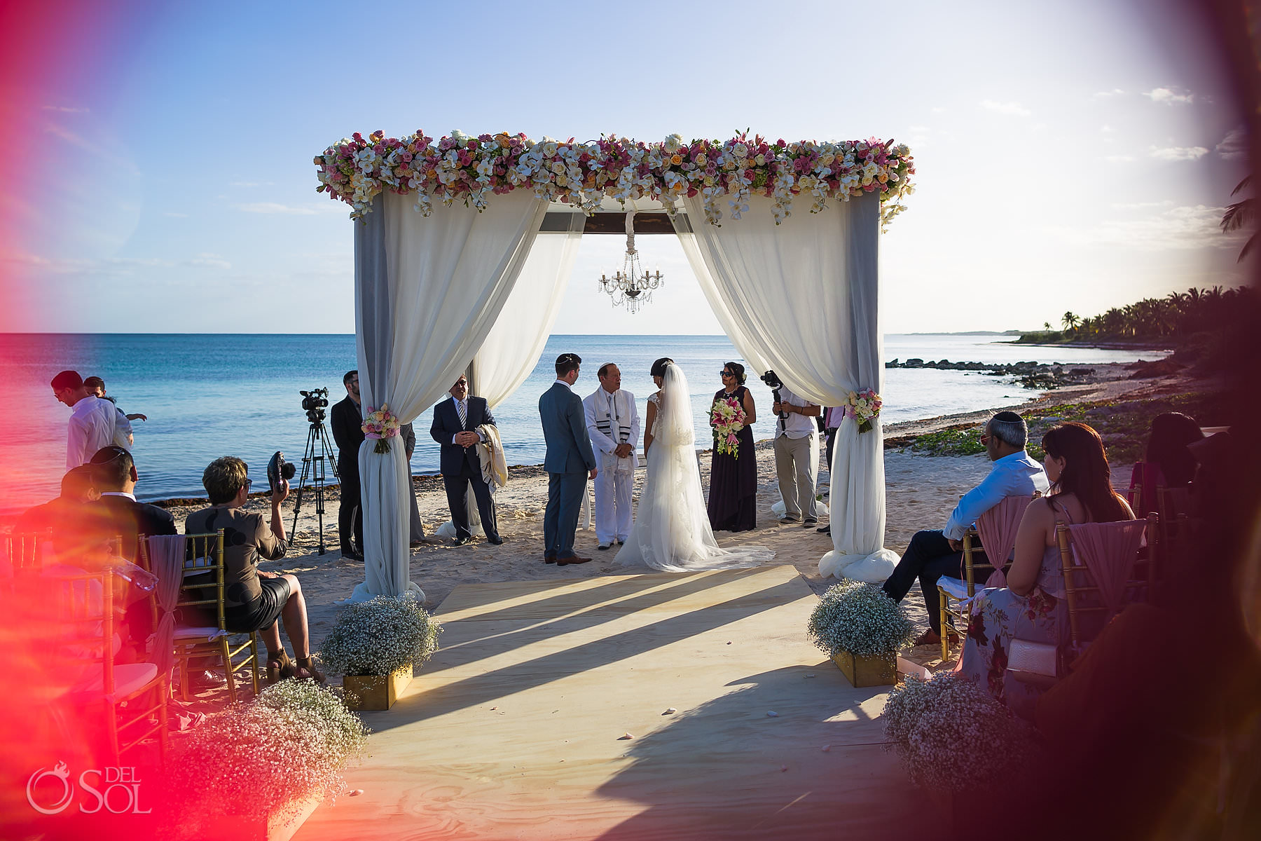Dreams Tulum Jewish Wedding Ceremony