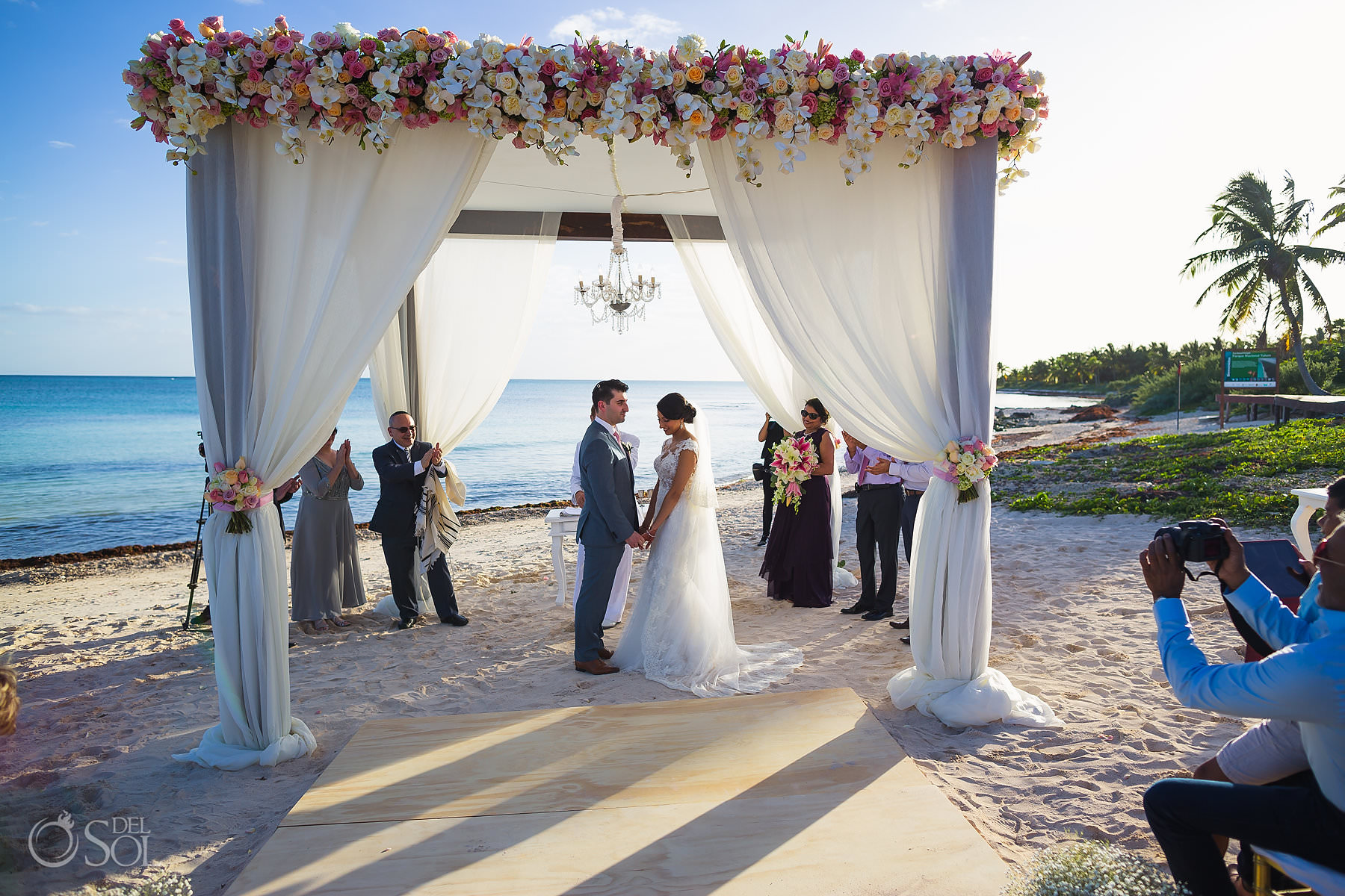Dreams Tulum Jewish Wedding photo