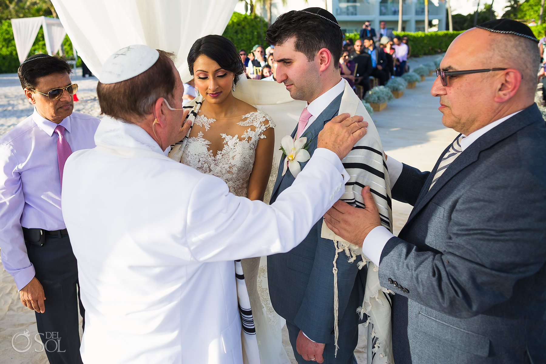 Dreams Tulum Jewish Wedding photos