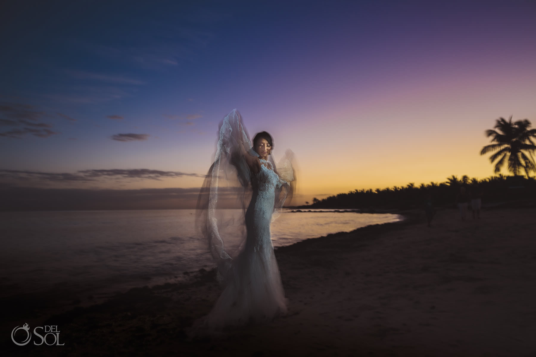 angel wings coconut drink fun photo idea Dreams Tulum Jewish bride