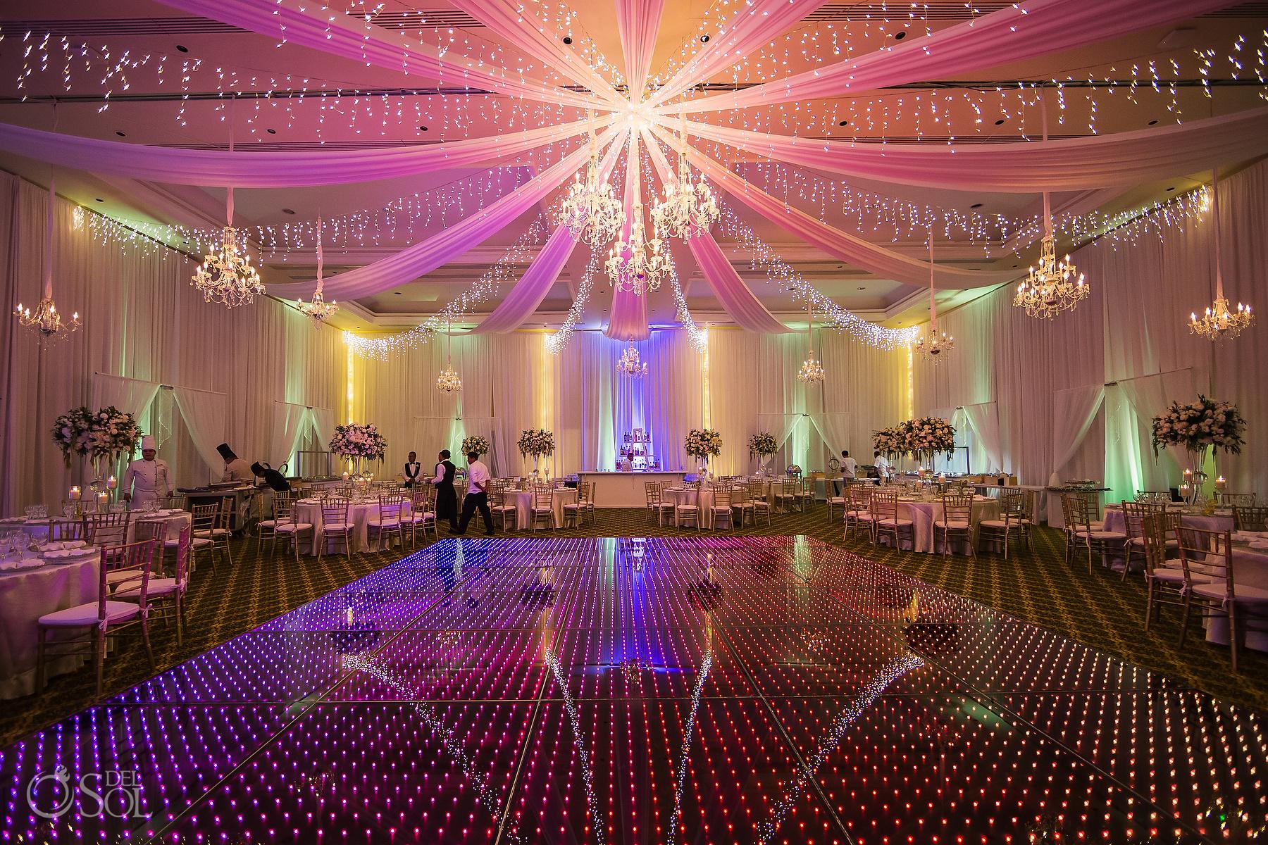 Dreams Tulum Ballroom design Wedding Reception Decoration