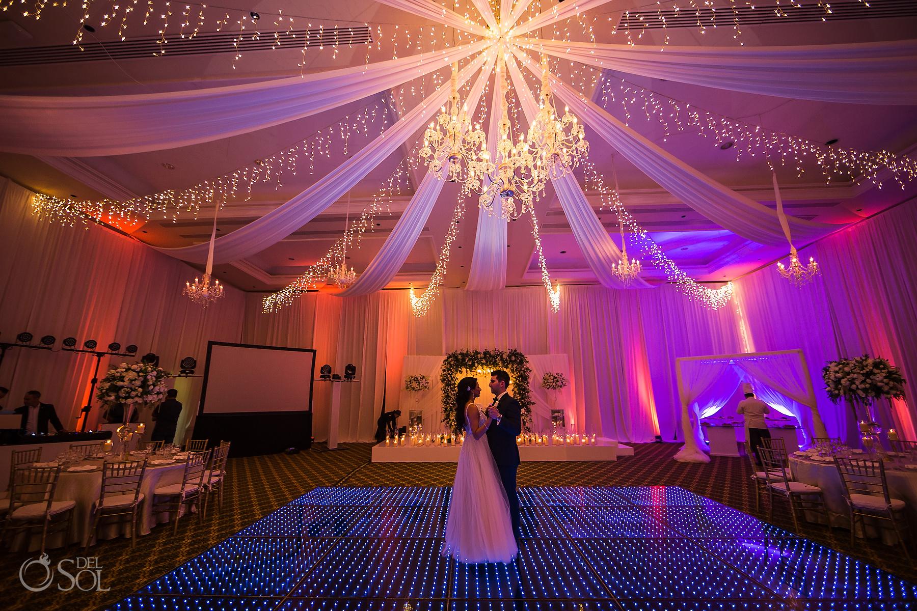 Dreams Tulum Ballroom reception