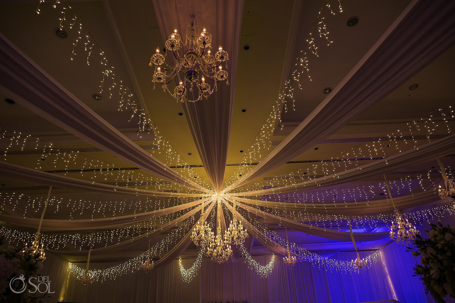 Dreams Tulum Ballroom decor wedding reception Decoration