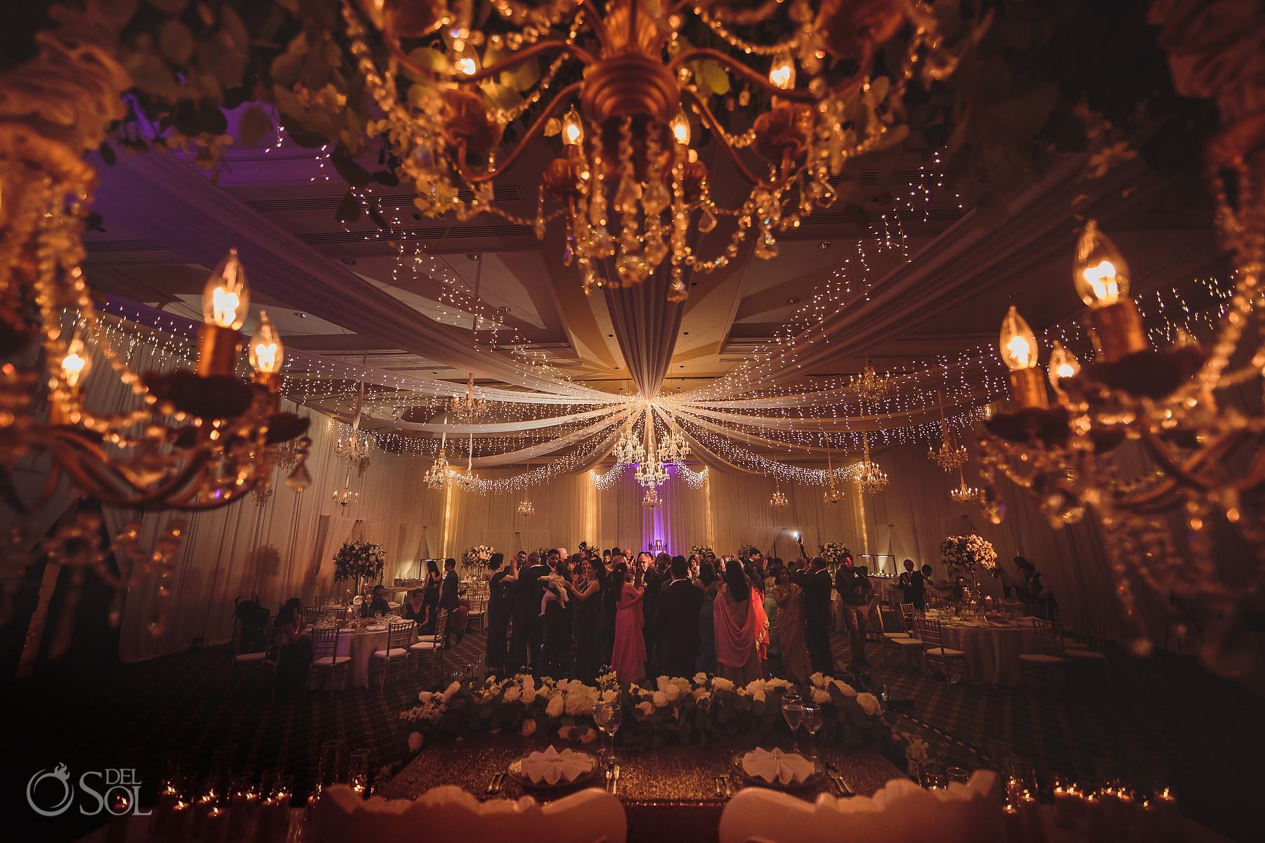 Epic Chandelier Ballroom Decoration Ideas Tulum Jewish Wedding Reception