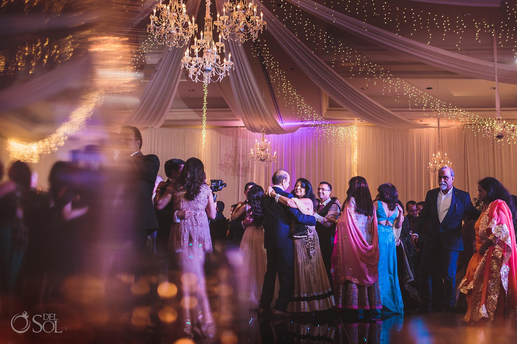 Amazing Ballroom Lights Decoration Tulum Jewish Wedding Reception