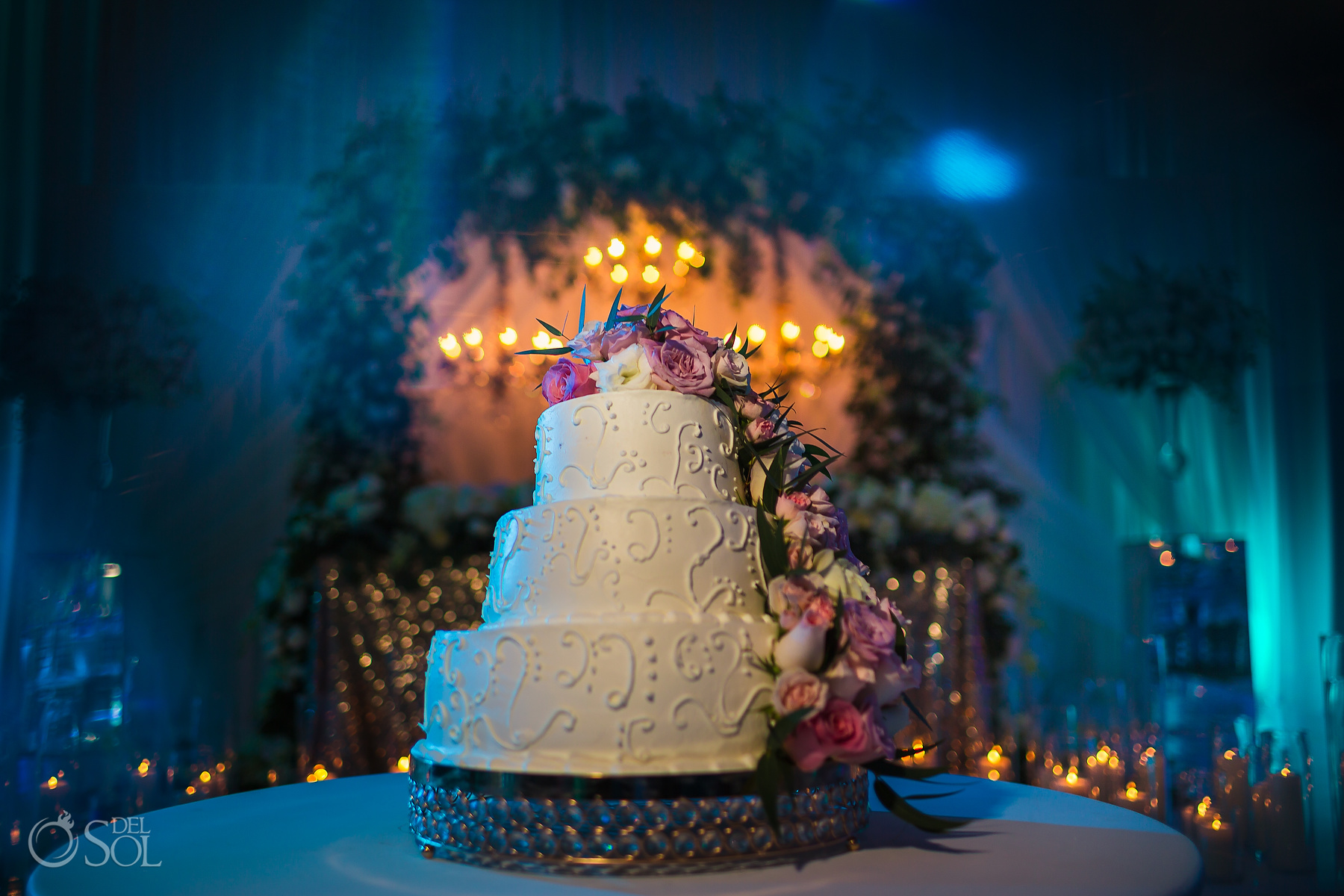 Wedding Cake Salon Chichen Itza Dreams Tulum Jewish Wedding Reception