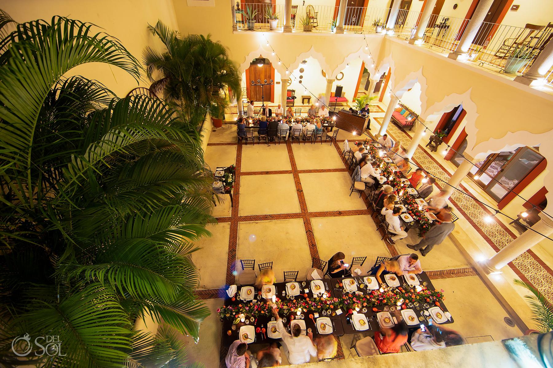 Hacienda Corazón Reception riviera maya villa wedding