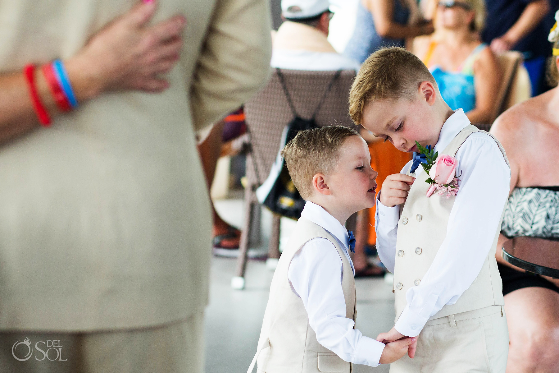 Kids as wedding party
