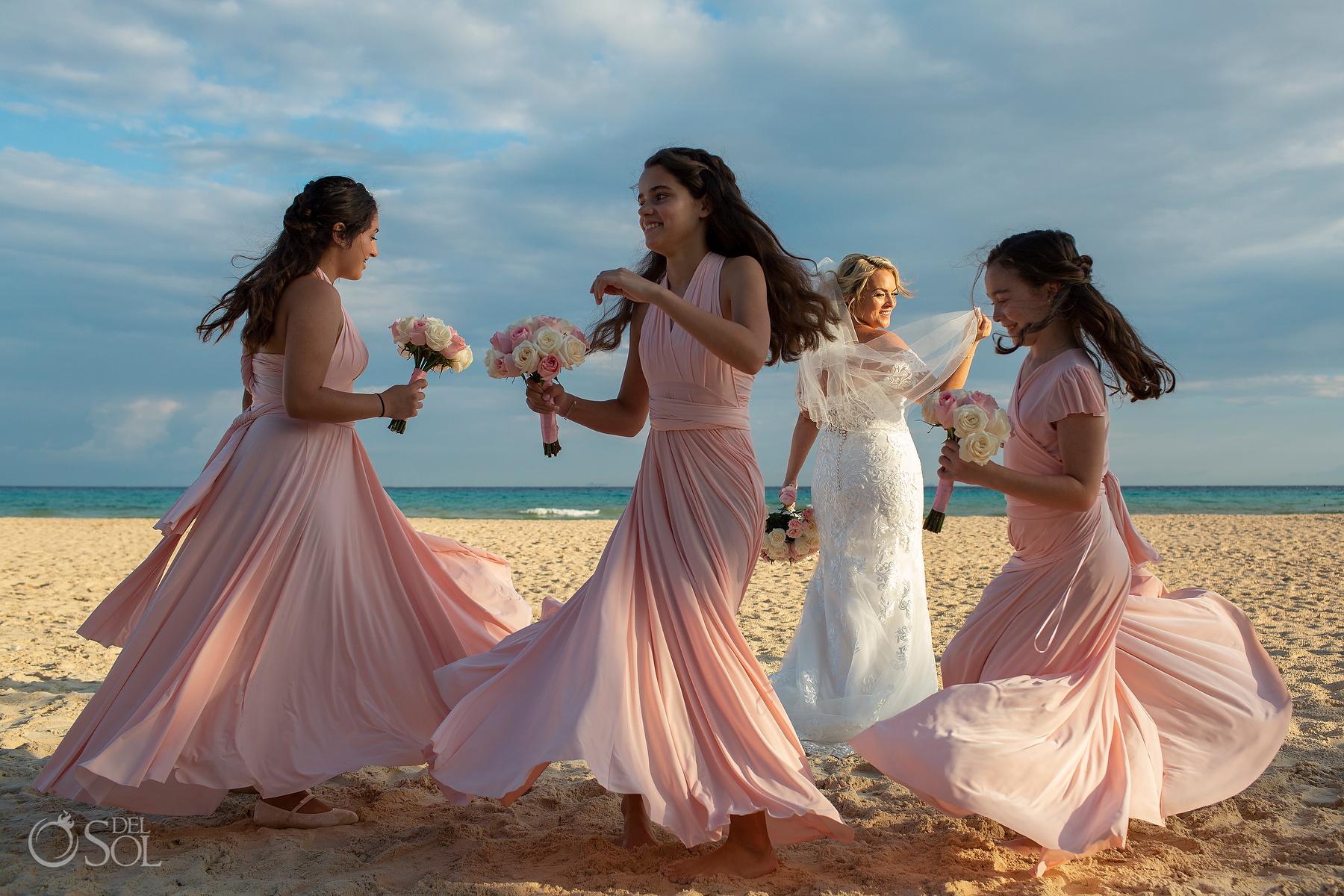 Beautiful Bridal Wedding Party Photos Riu Palace Photographer