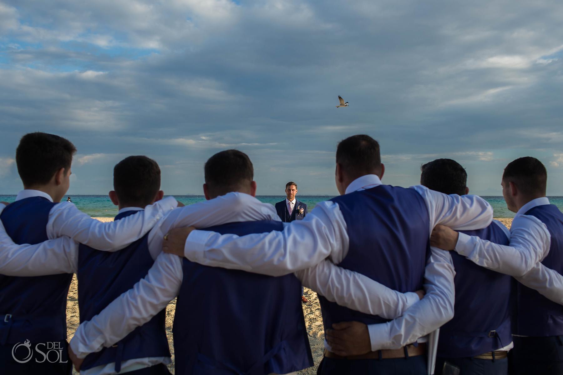 Groom Wedding Party photographer