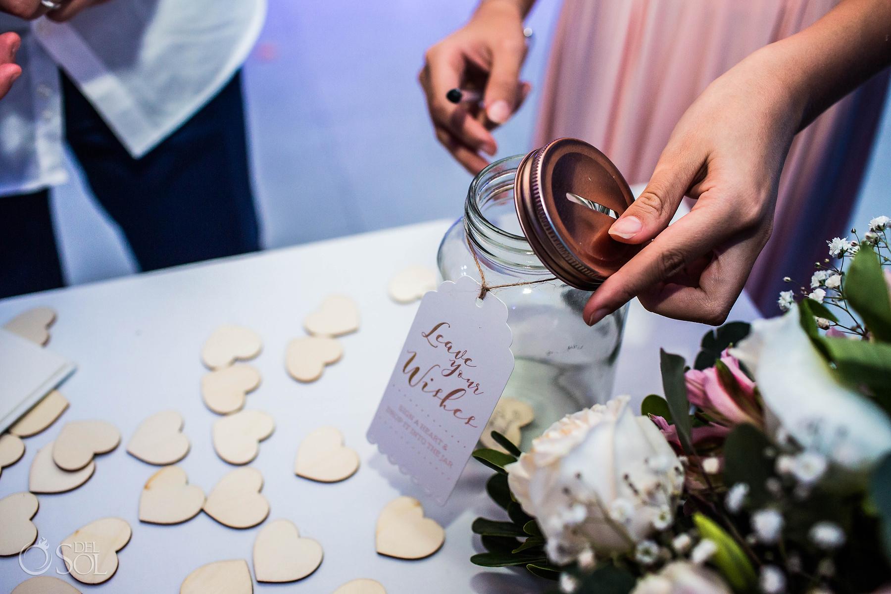 Wedding decoration details