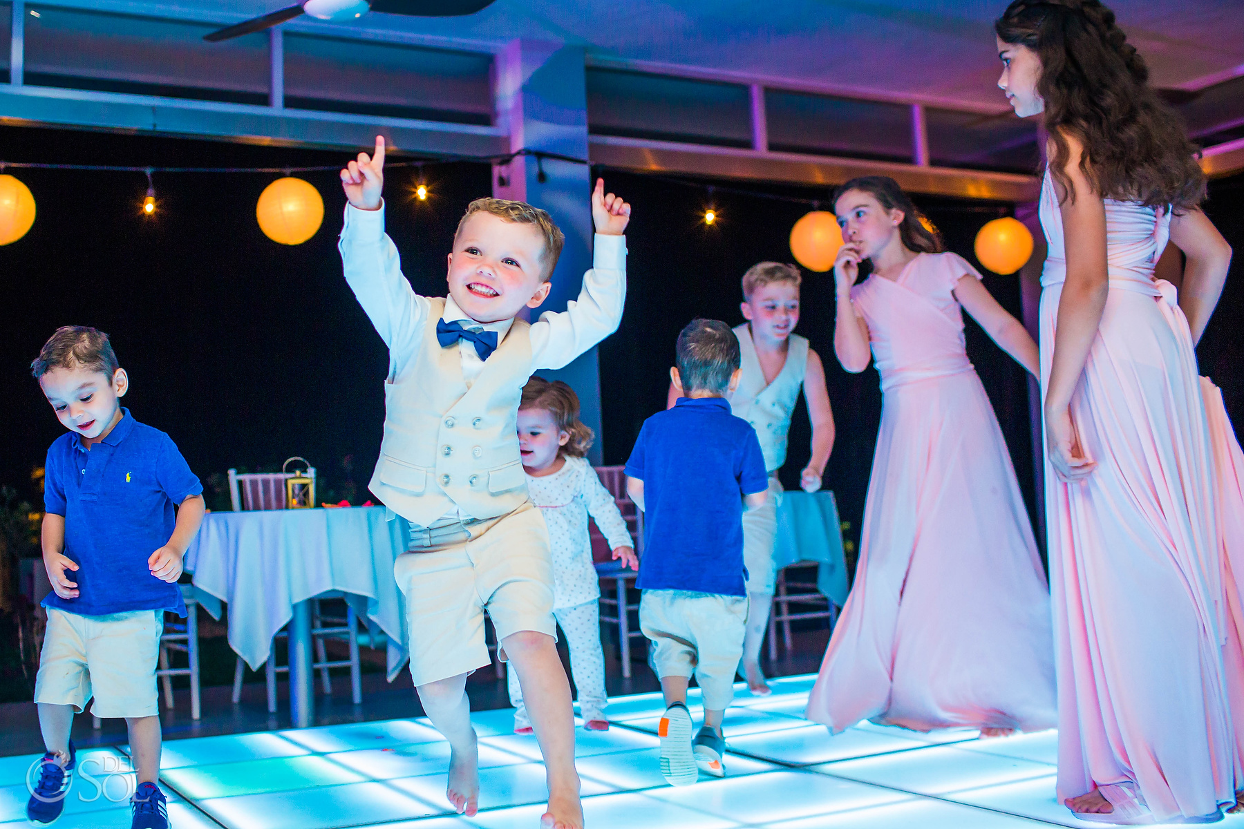 Kids best wedding experience Riu Palace Mexico Photographer