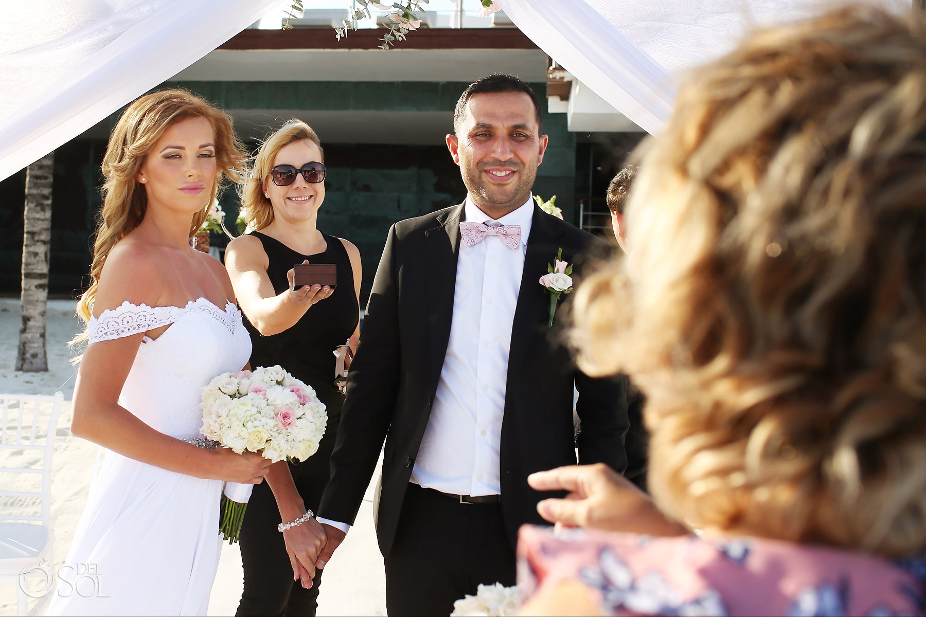 Wedding ring carrier elopement ceremony Best Locations Mexico