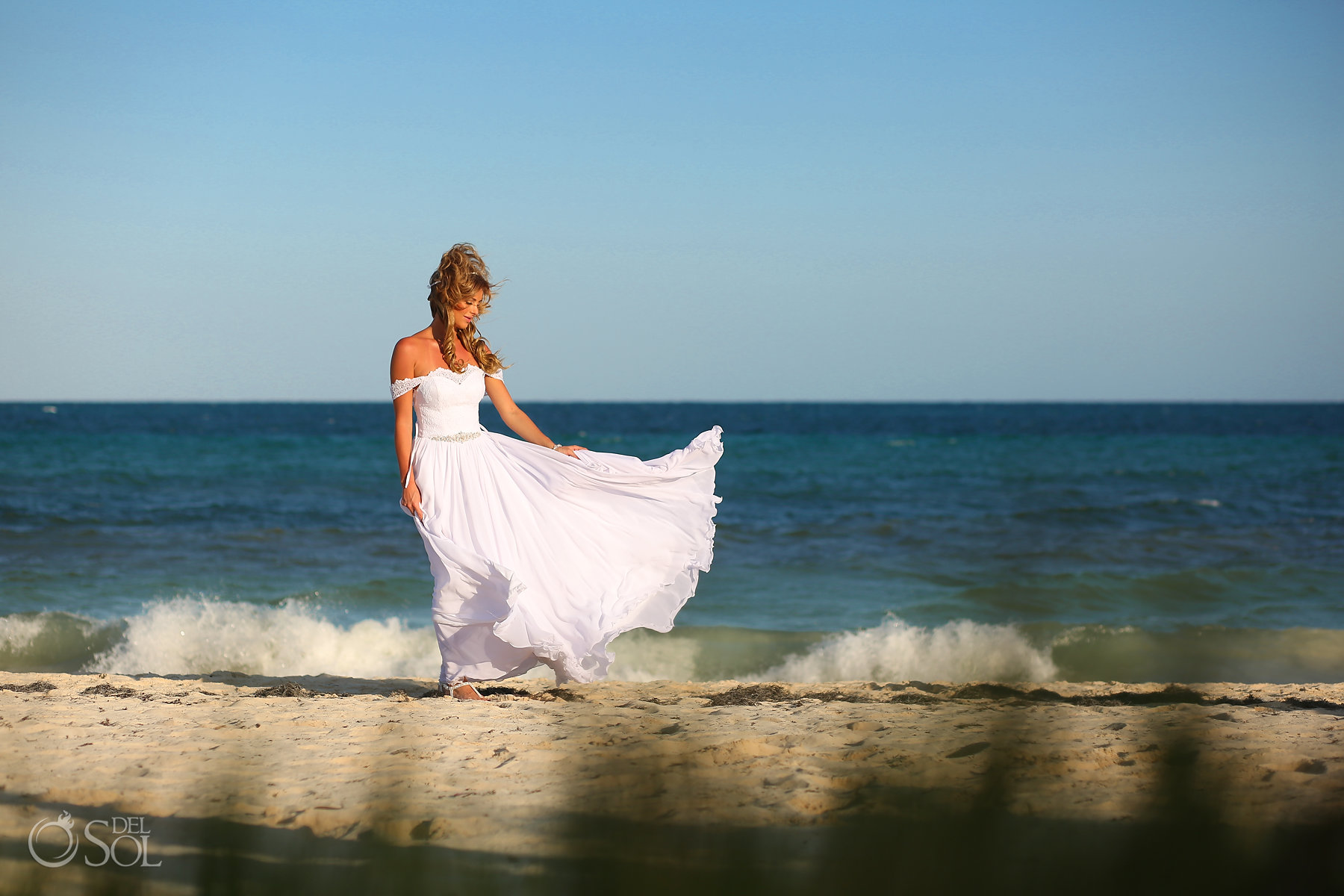 Polish Bride Beach Style Best Elopement Locations Mexico