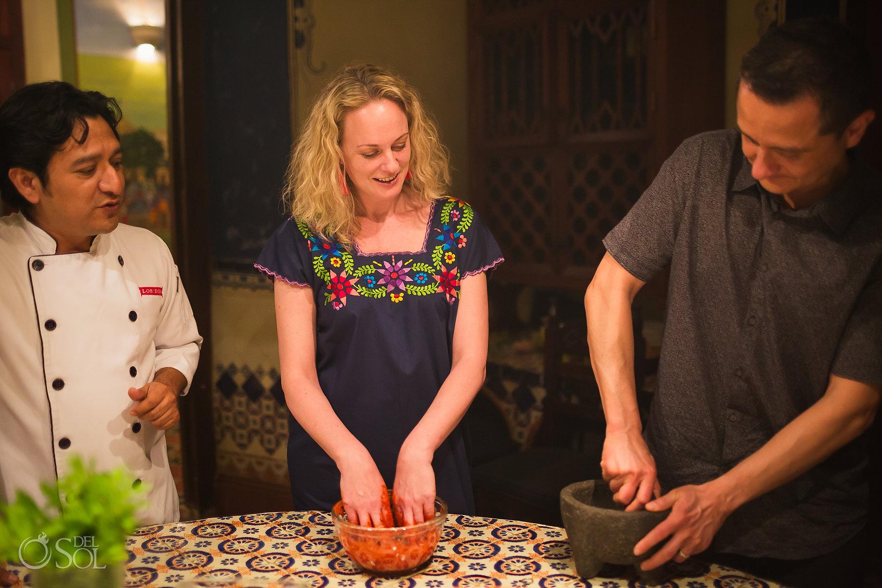 Yucatan Los Dos, Birthday cooking experience