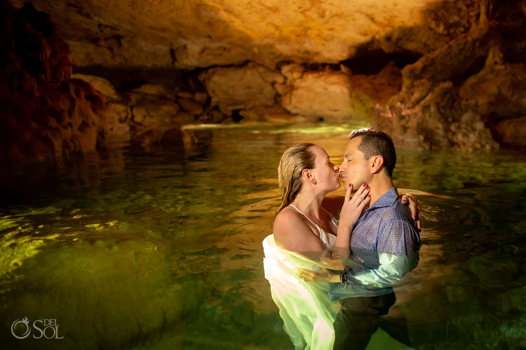 Couple birthday trip Yucatan Mexico