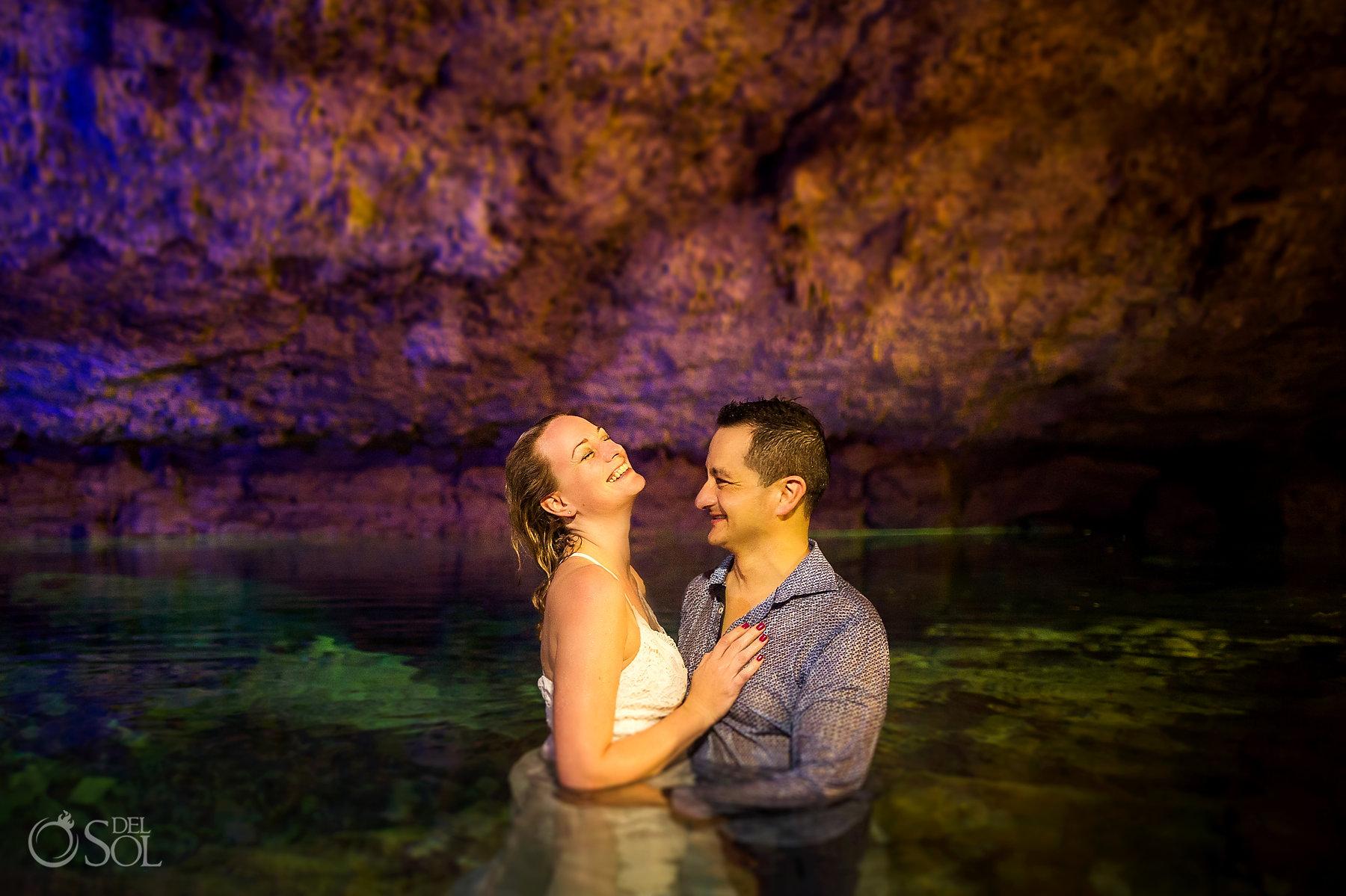 underground cave birthday Experience
