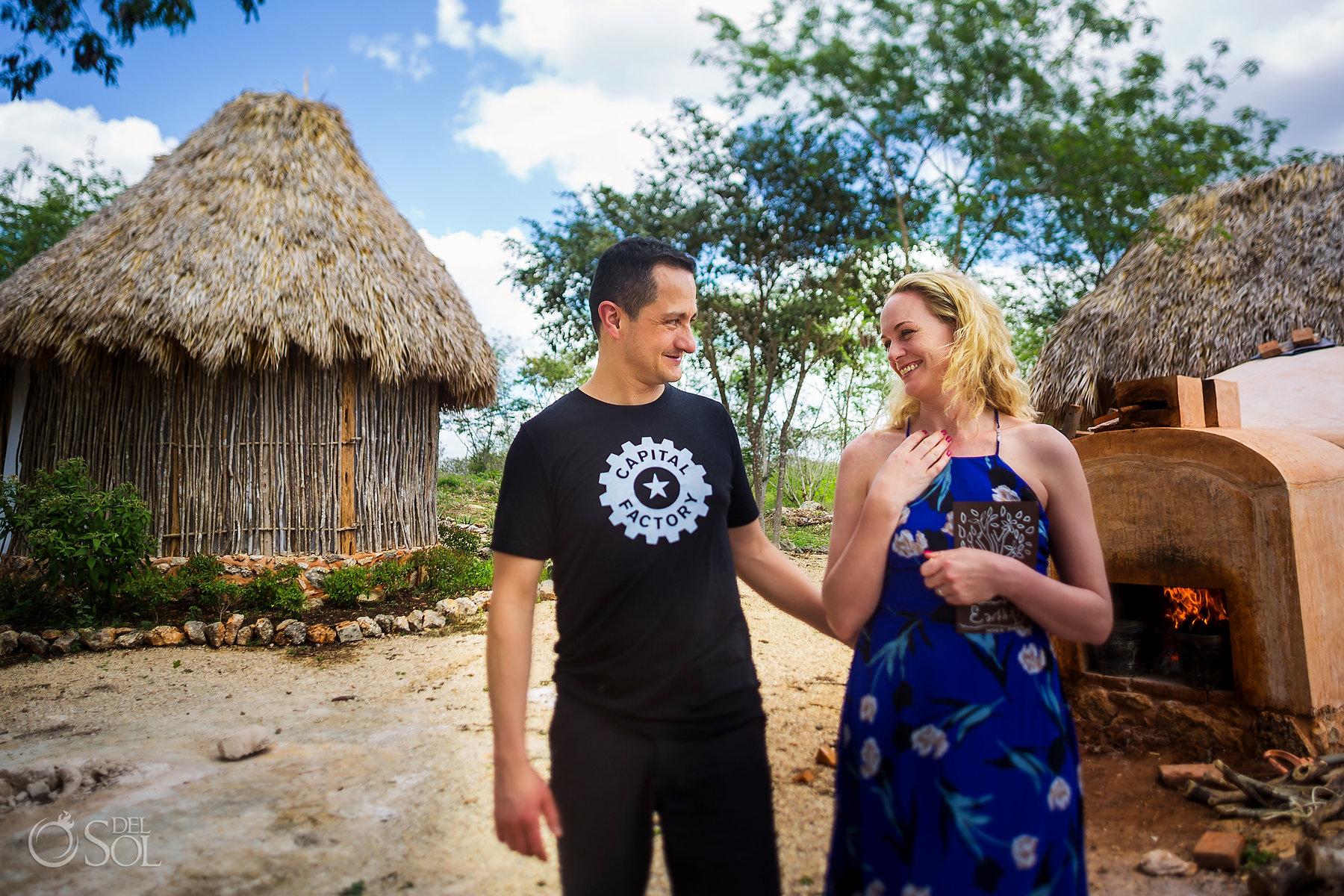 Designed couple Experience Yucatan Mexico