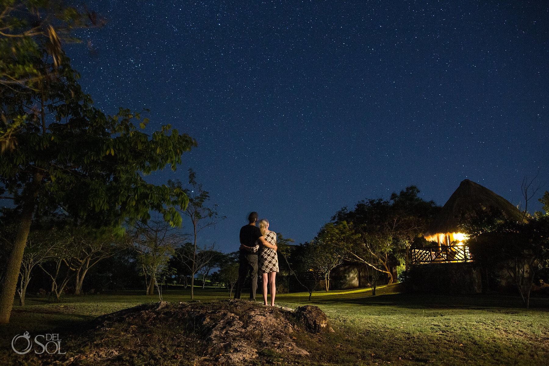Starry night birthday ideas Yucatan Mexico