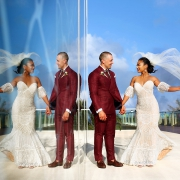Secrets The Vine Cancun Church wedding, Cancun Mexico photographer