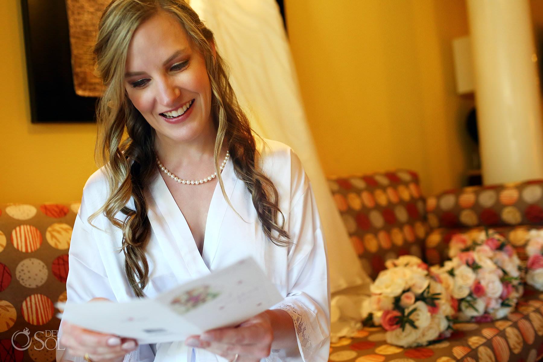Barcelo Maya Palace Wedding bride getting ready