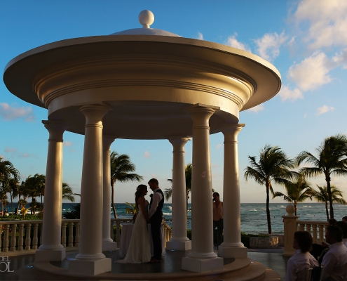 Barcelo Maya Palace Gazebo Wedding ceremony