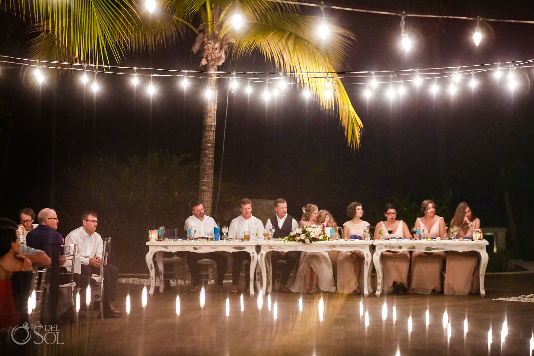 Captain Morgan Grill wedding reception