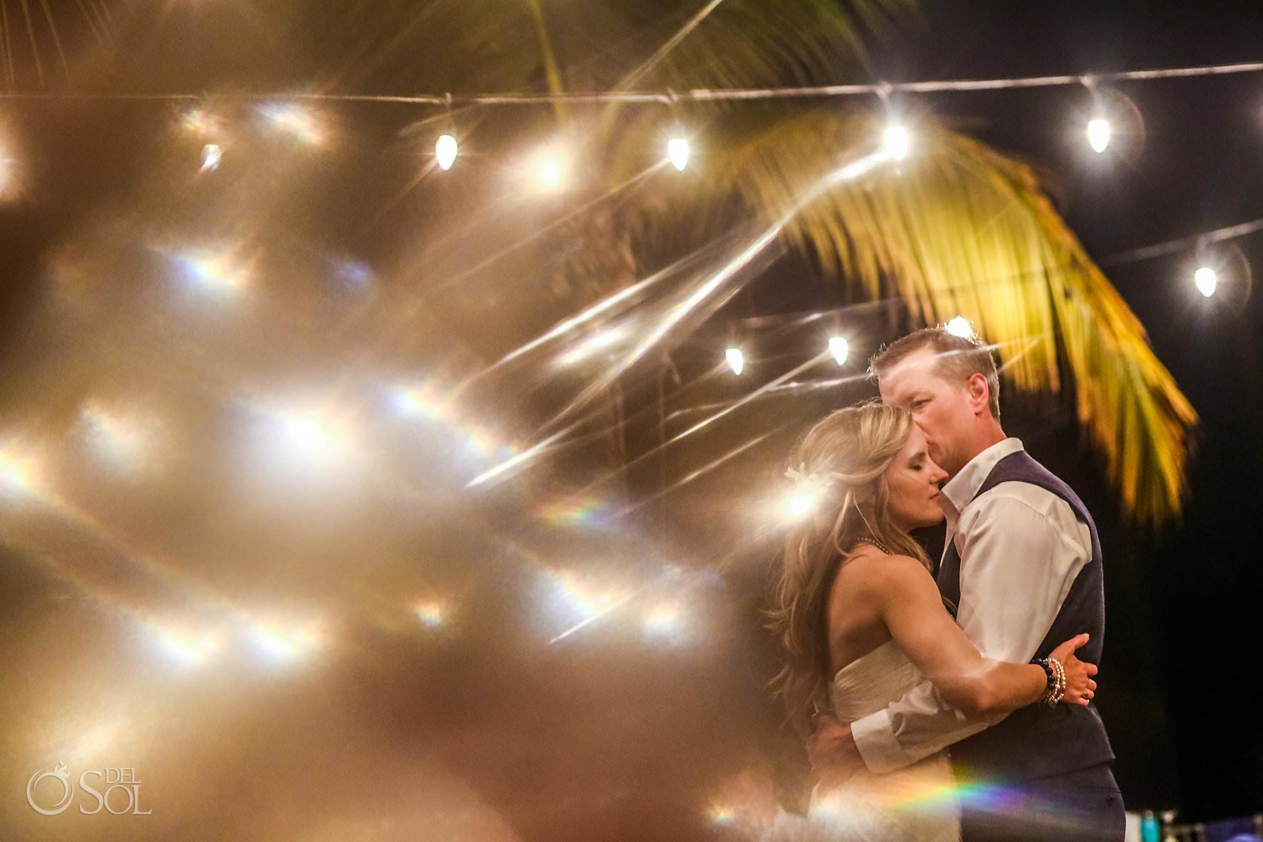 bride and groom first dance Captain Morgan Grill wedding reception