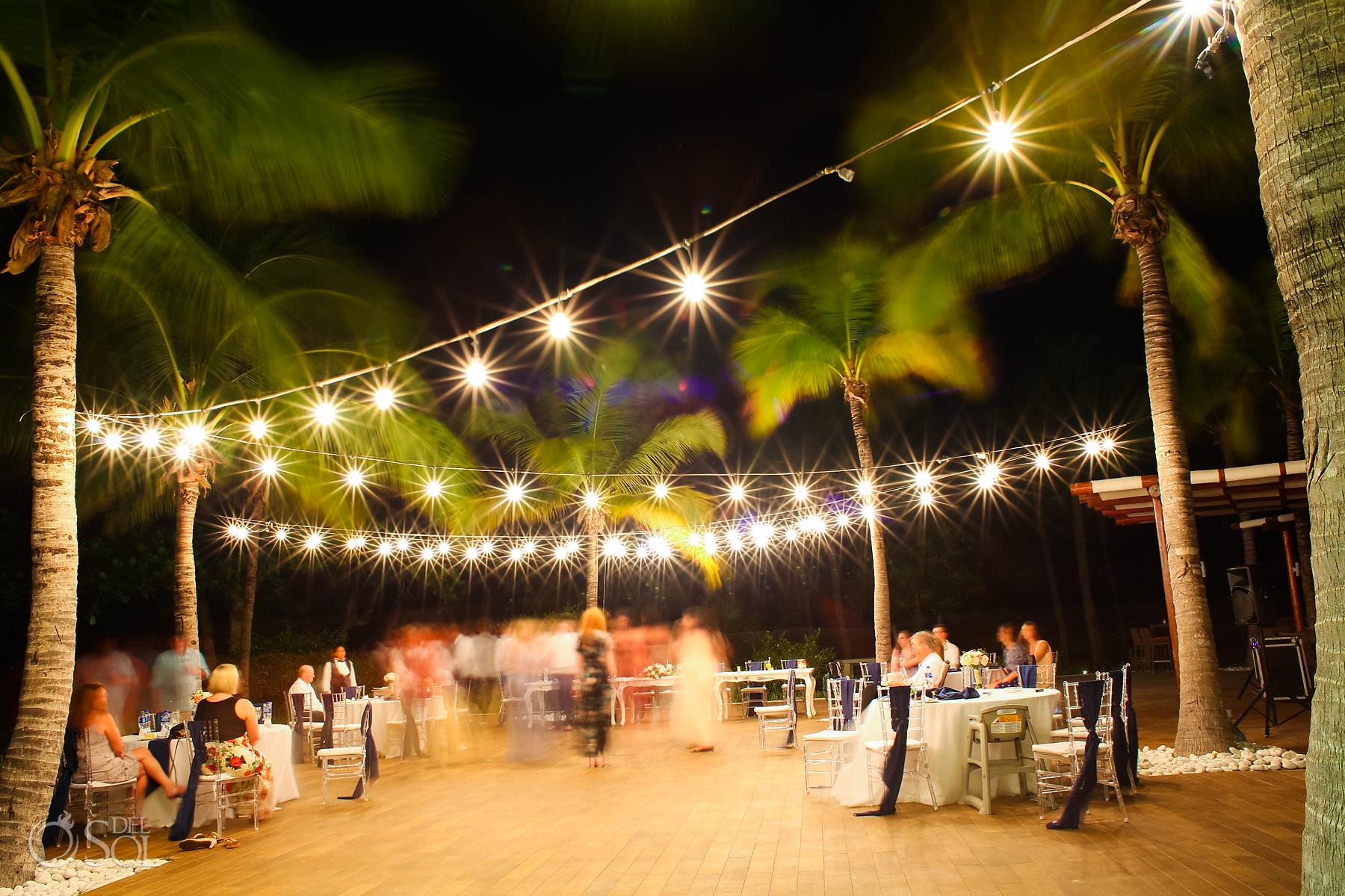 Captain Morgan Grill night wedding reception Riviera Maya Mexico
