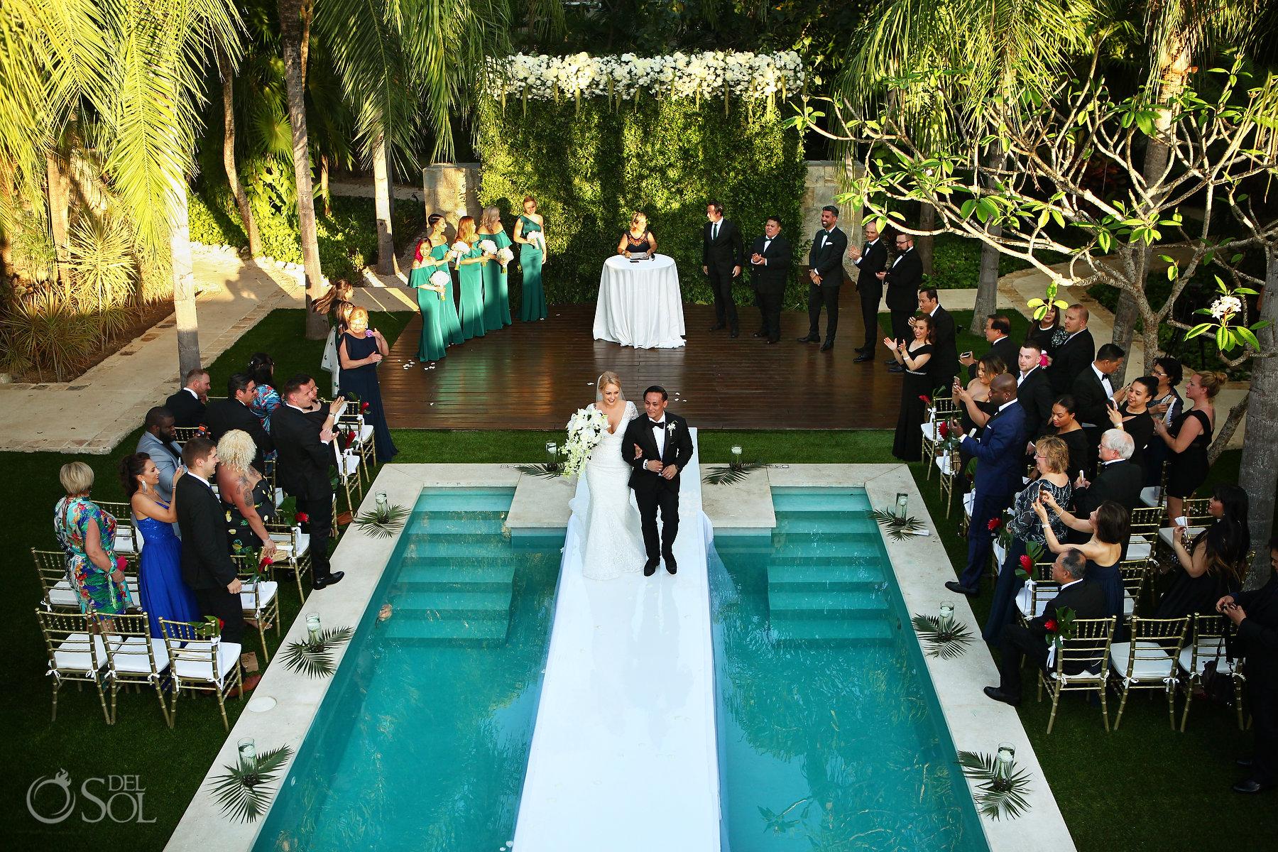 Blue Diamond Spa Wedding Luxury Playa del Carmen Hotel Mexico