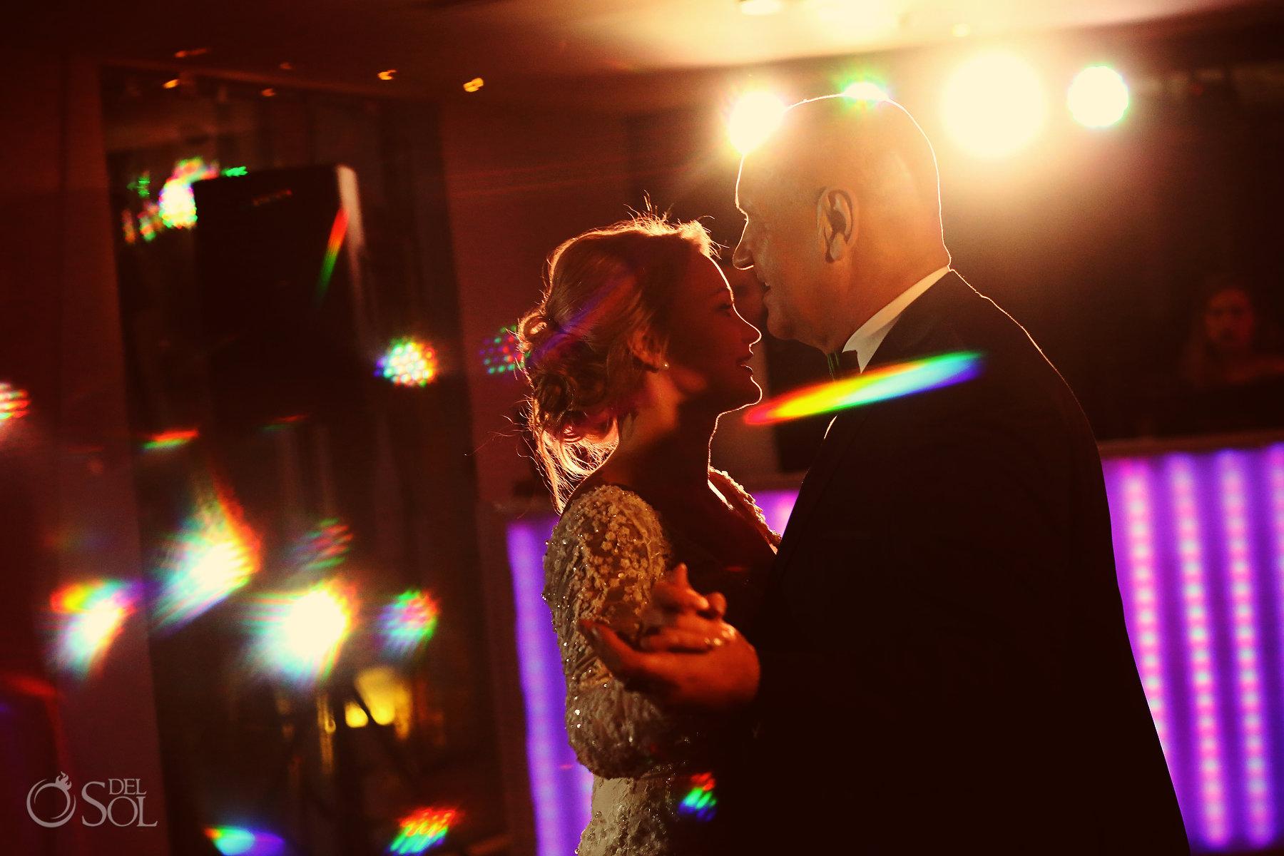 father daughter dance Restaurant Ambar blue diamond luxury boutique hotel