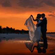 Secrets Maroma Boho Chic beach Wedding Riviera Maya Mexico