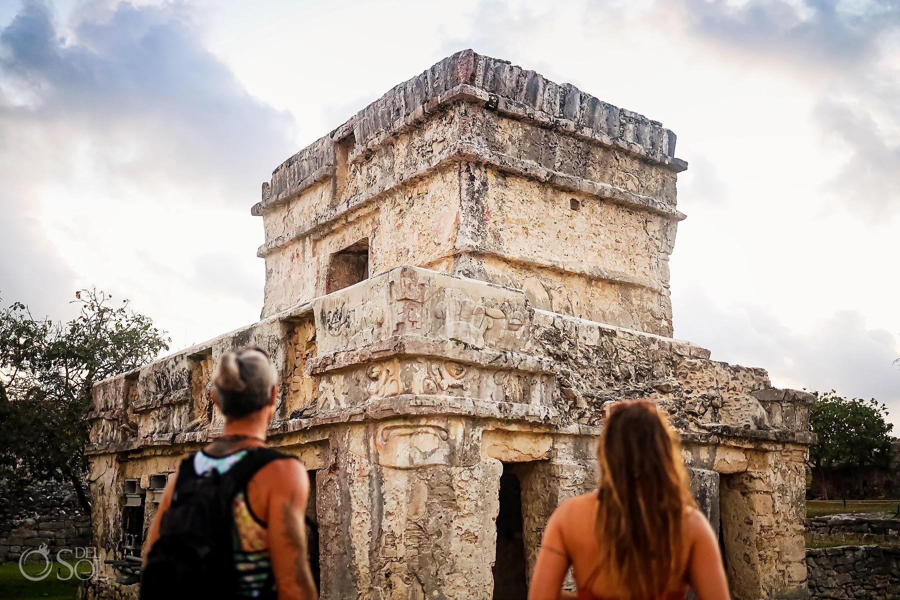 Wanderlust Mexico sunrise at Tulum Ruins Riviera Maya experiences
