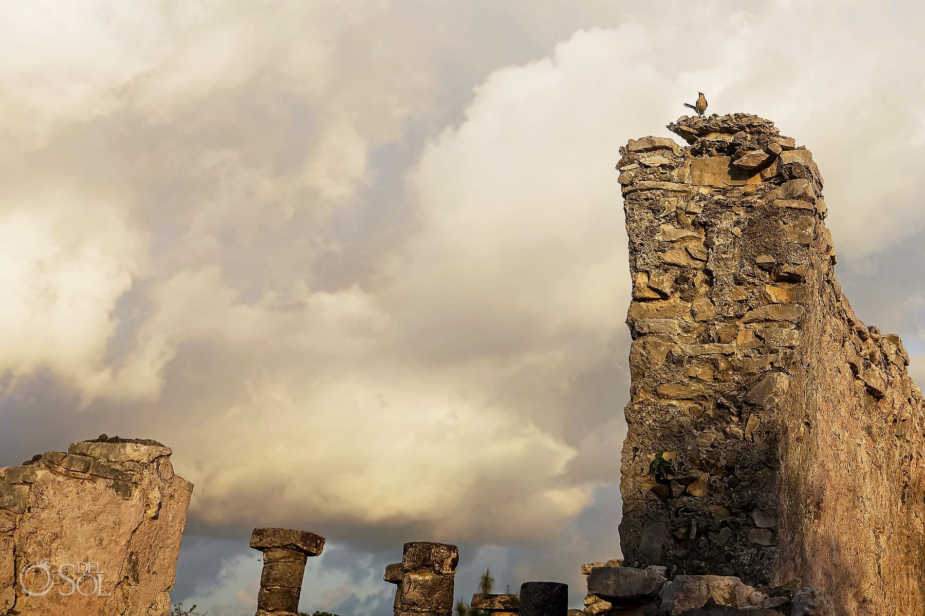sunrise at Tulum Ruins private VIP tour Riviera Maya Mexico
