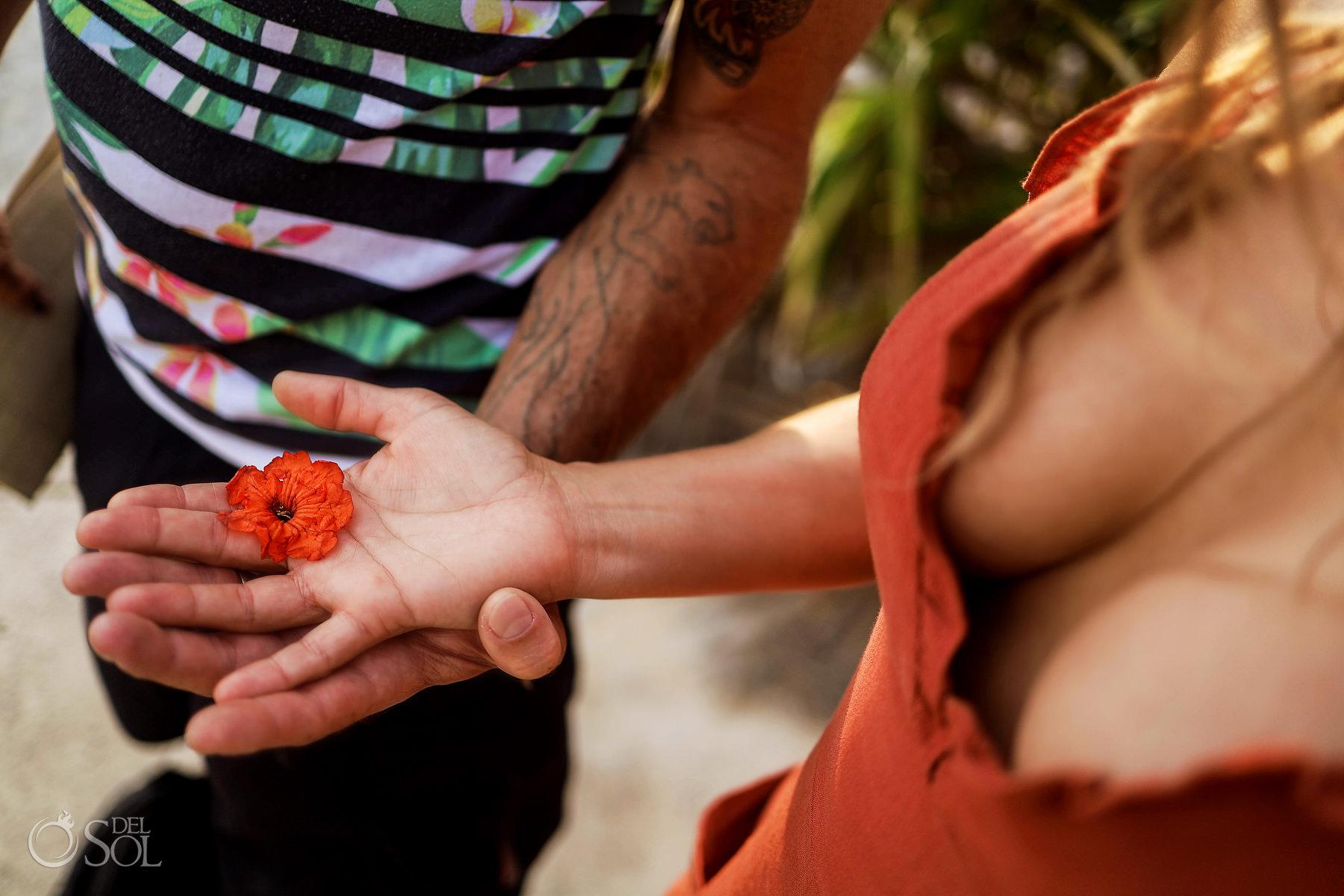 spiritual healing experience Tulum ruins Riviera Maya Mexico