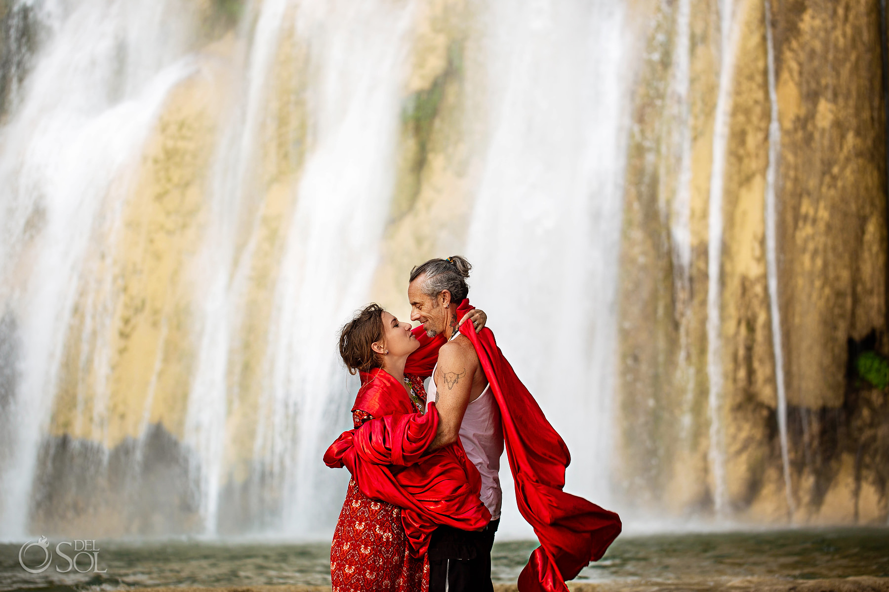 Waterfall Vow Renewal Experience