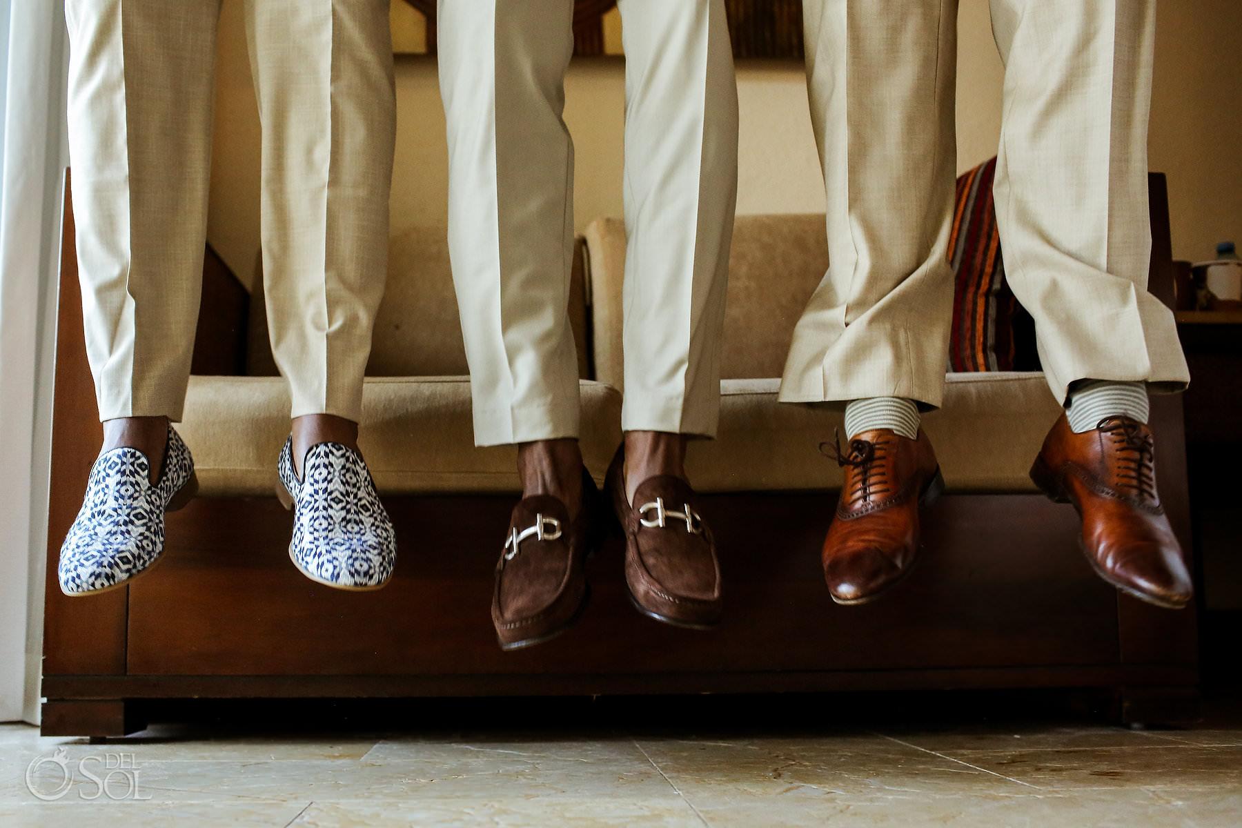 Groom groomsmen wedding shoe ideas creative photography
