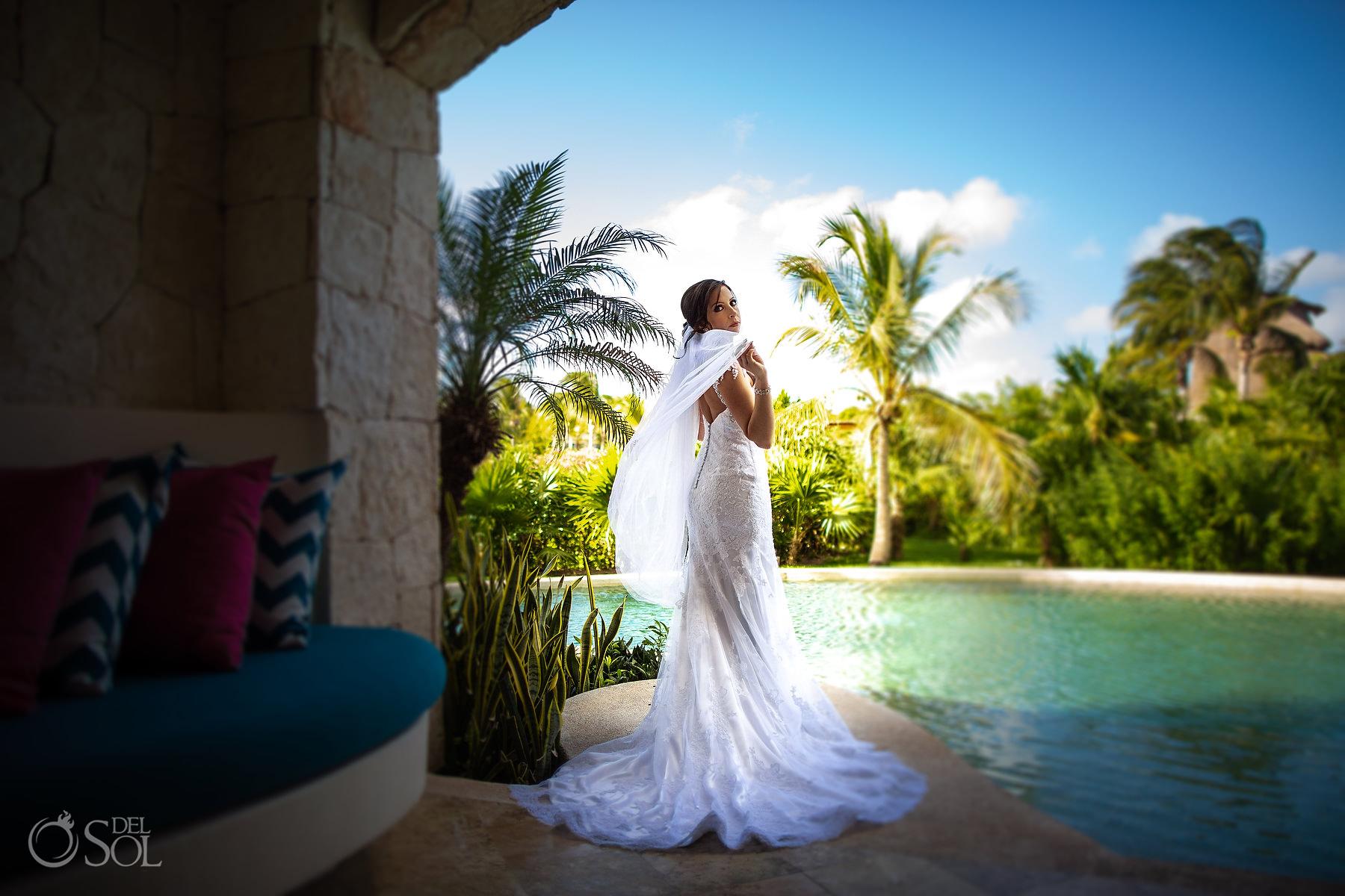Secrets Maroma bridal photo ideas Riviera Maya Mexico