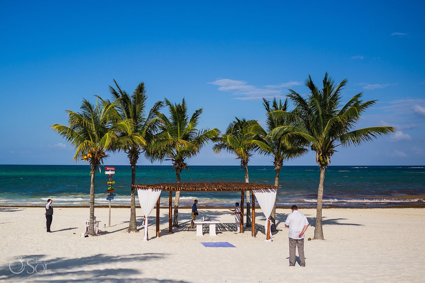 Secrets Maroma beach Elopement Playa del Carmen Mexico
