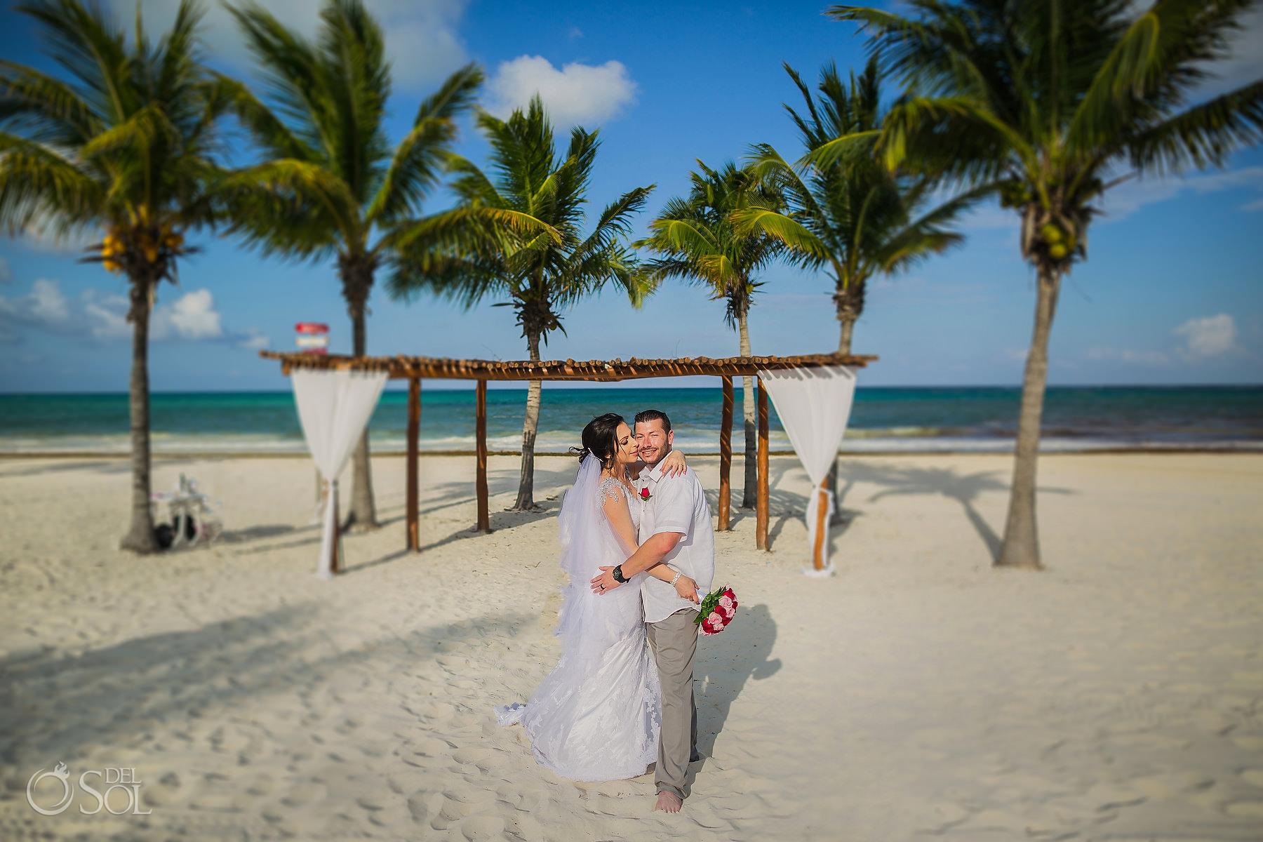 Secrets Maroma beach Elopement intimate ceremony Playa del Carmen Mexico