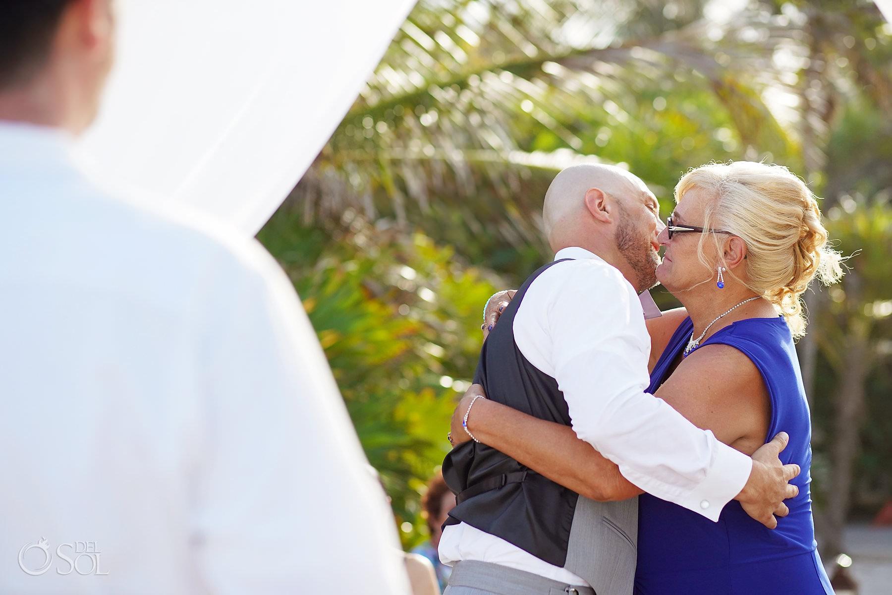 Akumal Bay Beach and Wellness Resort Wedding Ceremony Tulum Mexico