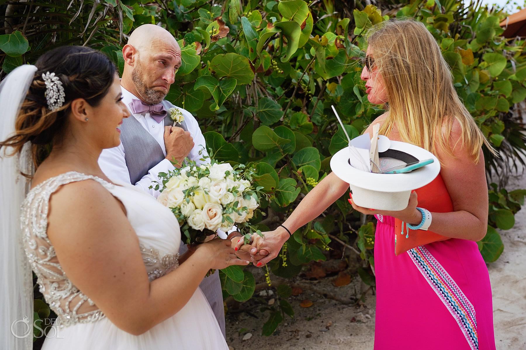candid wedding photography akumal bay beach and wellness resort wedding