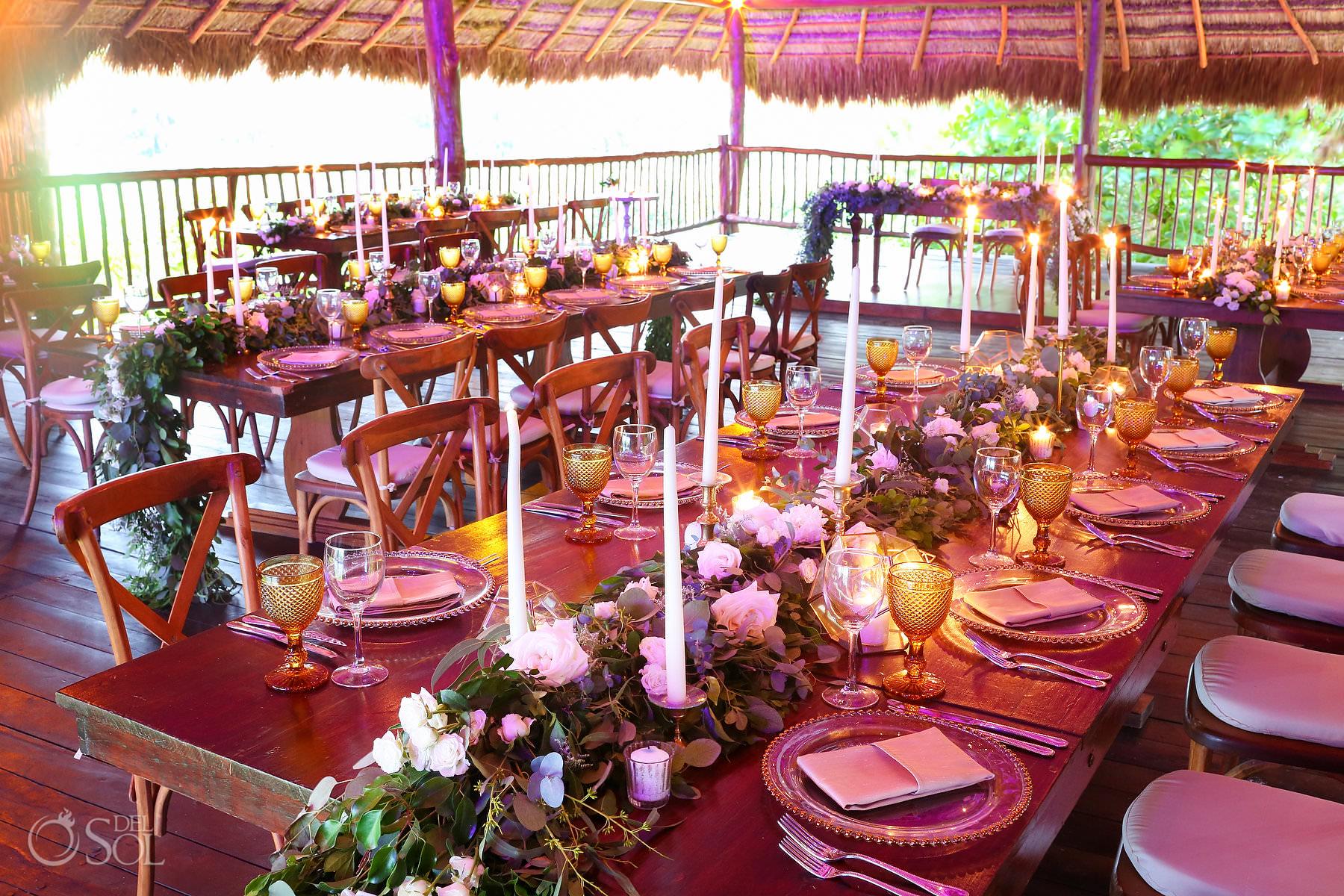Wedding reception Labna Palapa akumal bay beach and wellness resort