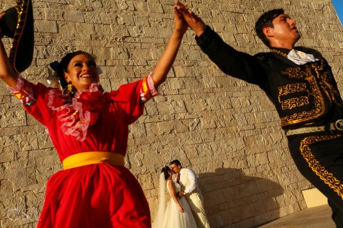 Grand Hyatt playa del carmen wedding mariachi show