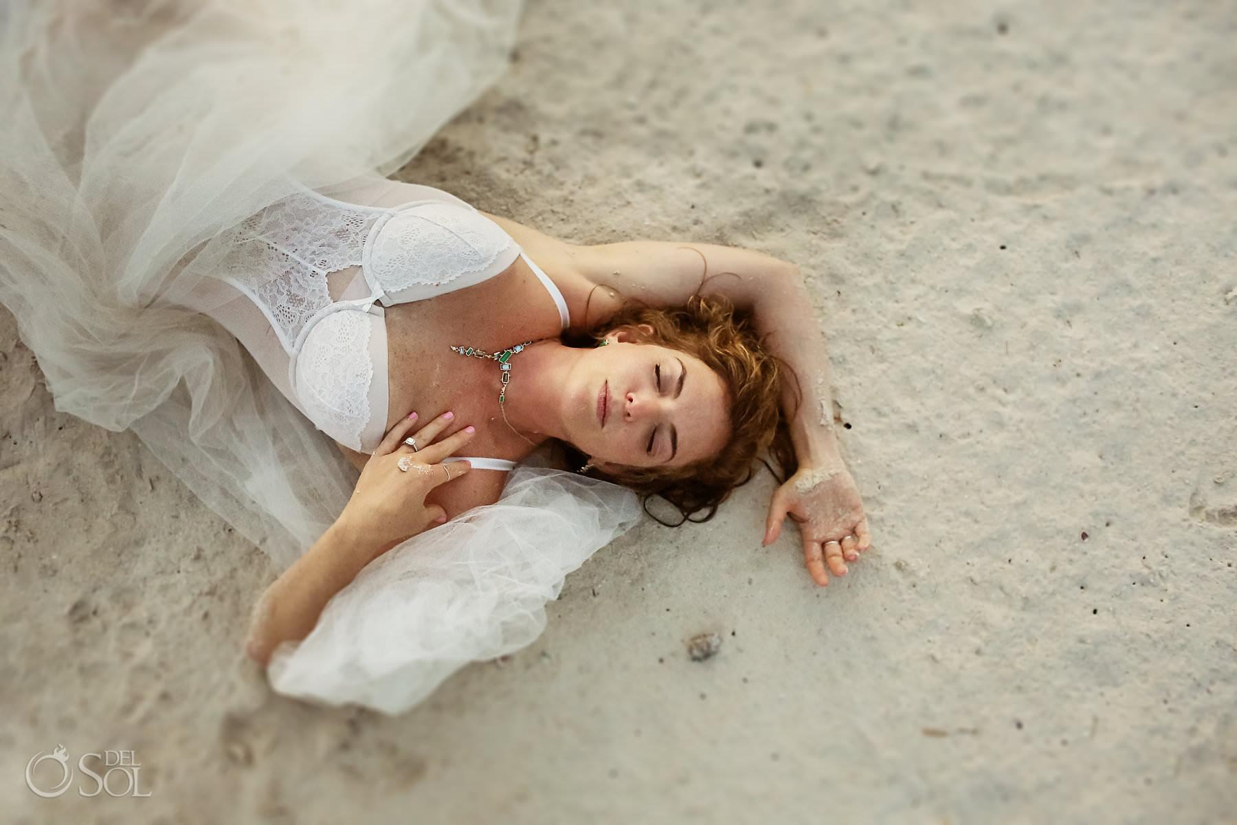 Cancun boudoir photographer Dreams Playa Mujeres