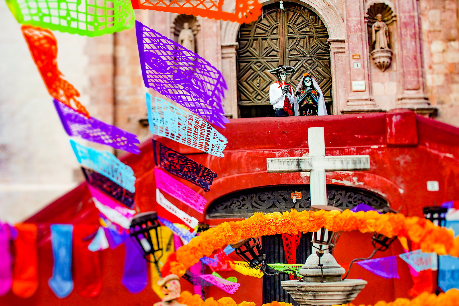 Day Of The Dead at Guanajuato, Mexico. Photos by Del Sol Photography.