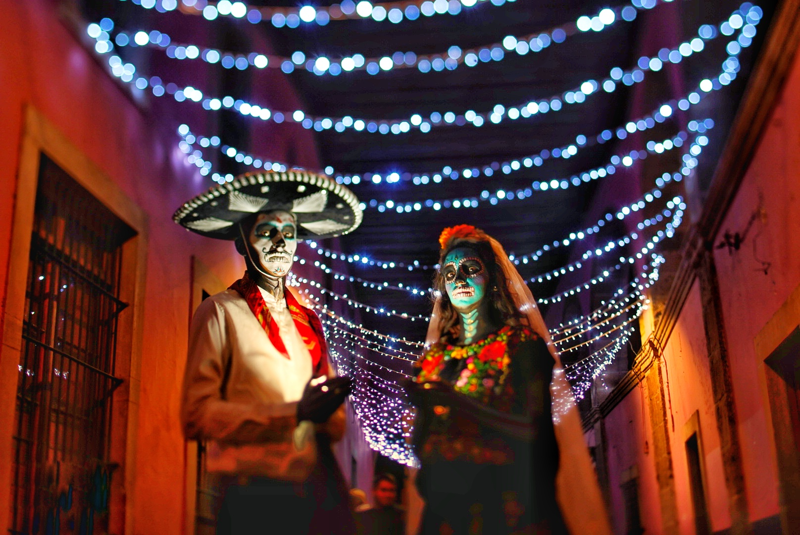 day of the dead Guanajuato Mexico