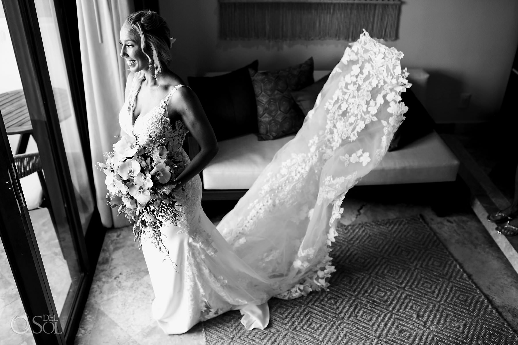 Secrets Maroma Wedding bride Photos